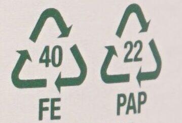 Junge Erbsen - Wiederverwertungsanweisungen und/oder Verpackungsinformationen - de