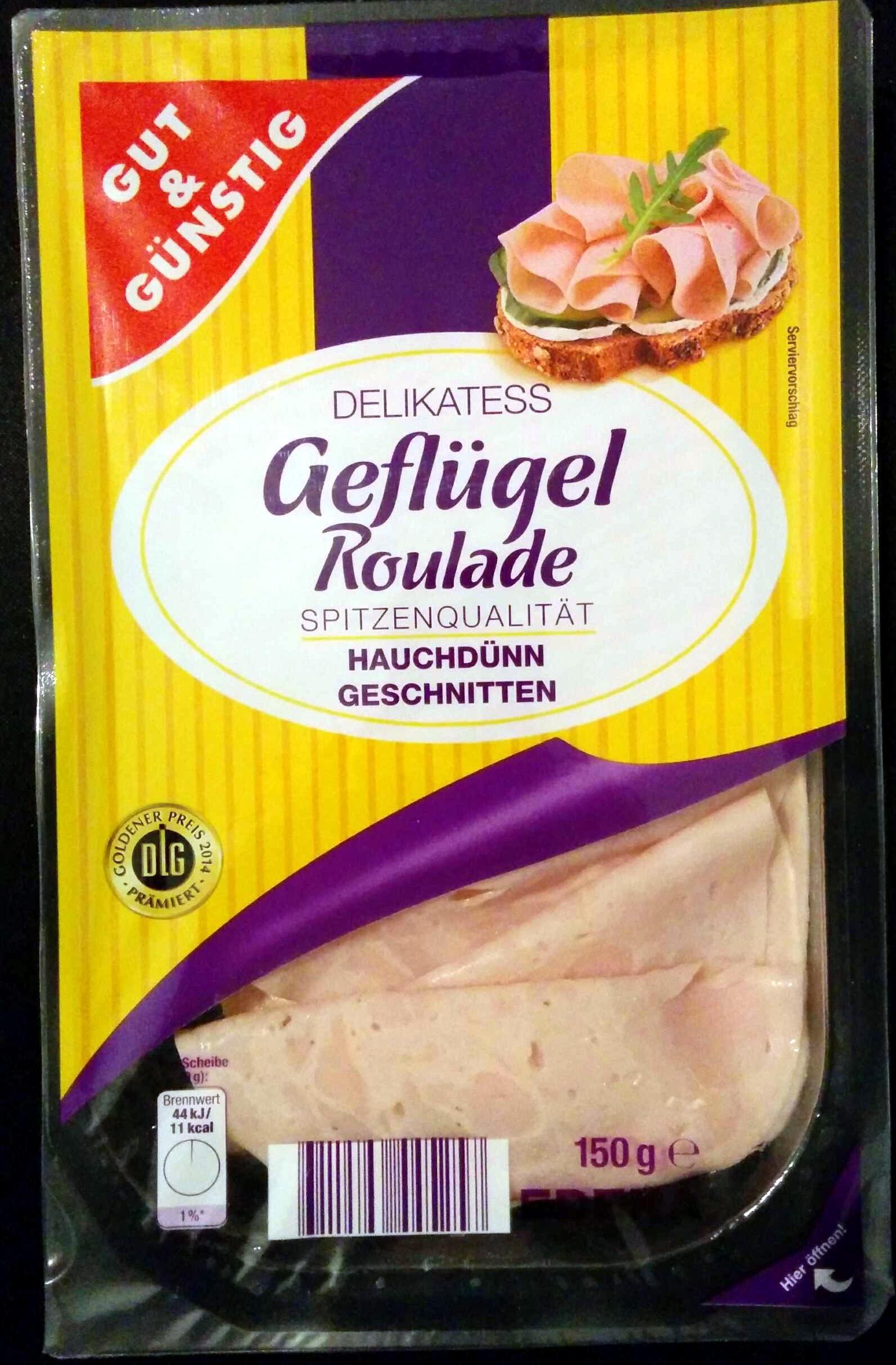 Delikatess Geflügel Roulade - Product