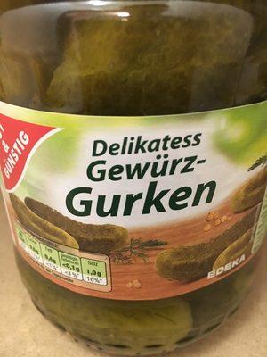 Delikatess Gewürz-Gurken - Producte