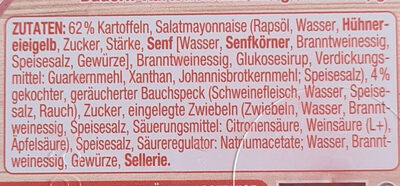 Bauern Kartoffelsalat - Ingredientes - de