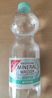 Natürliches Mineralwasser mit Kohlensäure - Prodotto - de