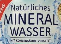 Natürliches Mineralwasser mit Kohlensäure - Ingredienti - de