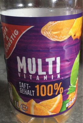 Multivitaminsaft, Mehrfrucht - Product - de