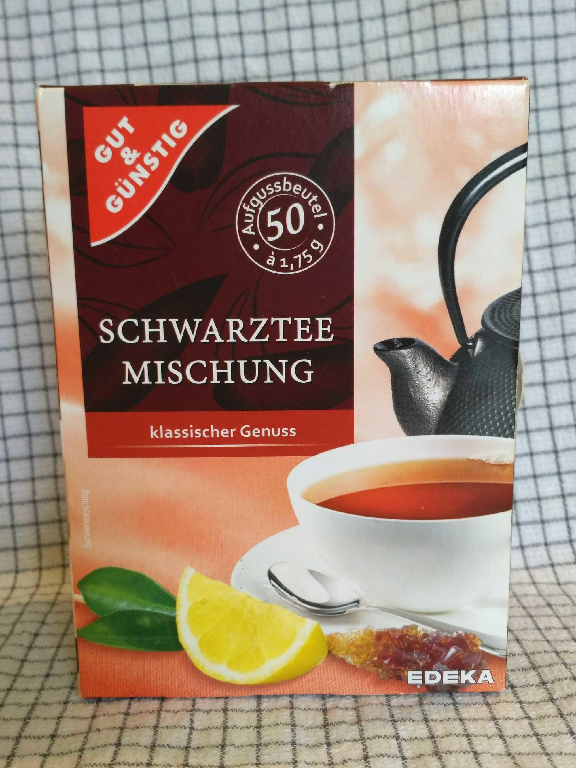Schwarztee Mischung - Produkt