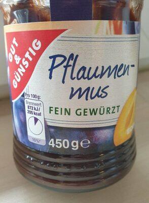 Pflaumenmus - Produit
