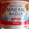 Natürliches Mineralwasser ohne Kohlensäure - Product