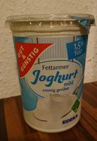 Fettarmer Joghurt mild 1,5% Fett - Product