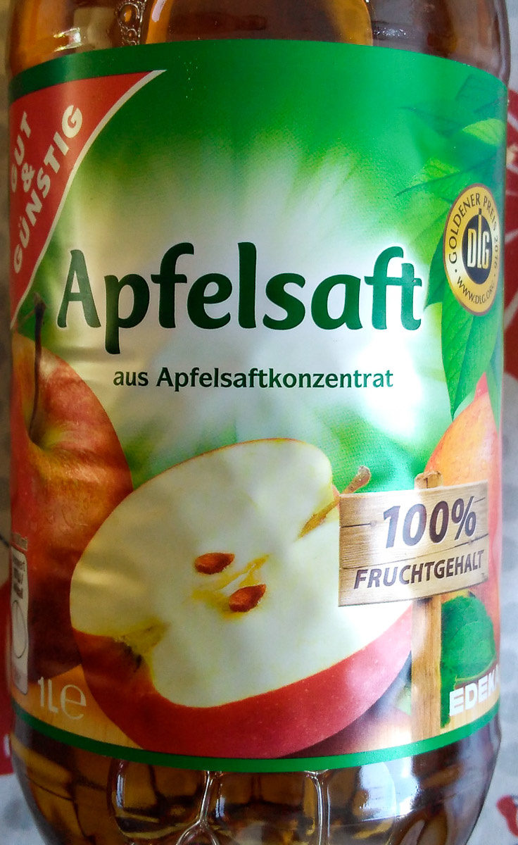 Apfelsaft - Produkt