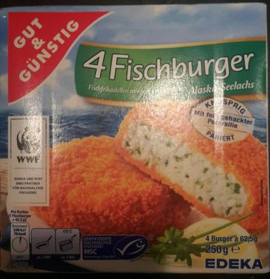 Fischburger - Produit