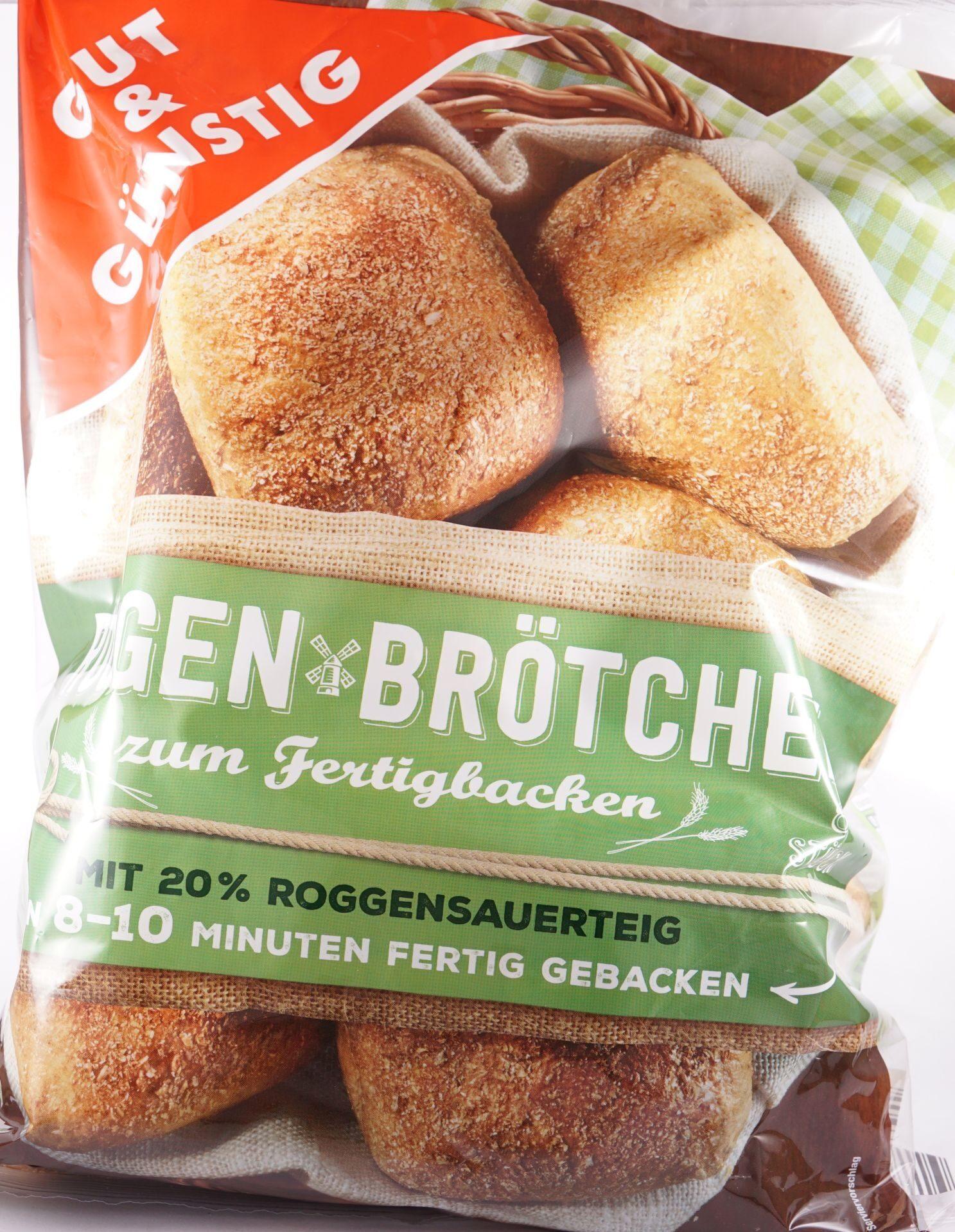 Roggen Brötchen zum Fertigbacken - 产品 - de