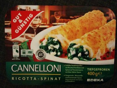 Cannelloni Ricotta-Spinat - Product