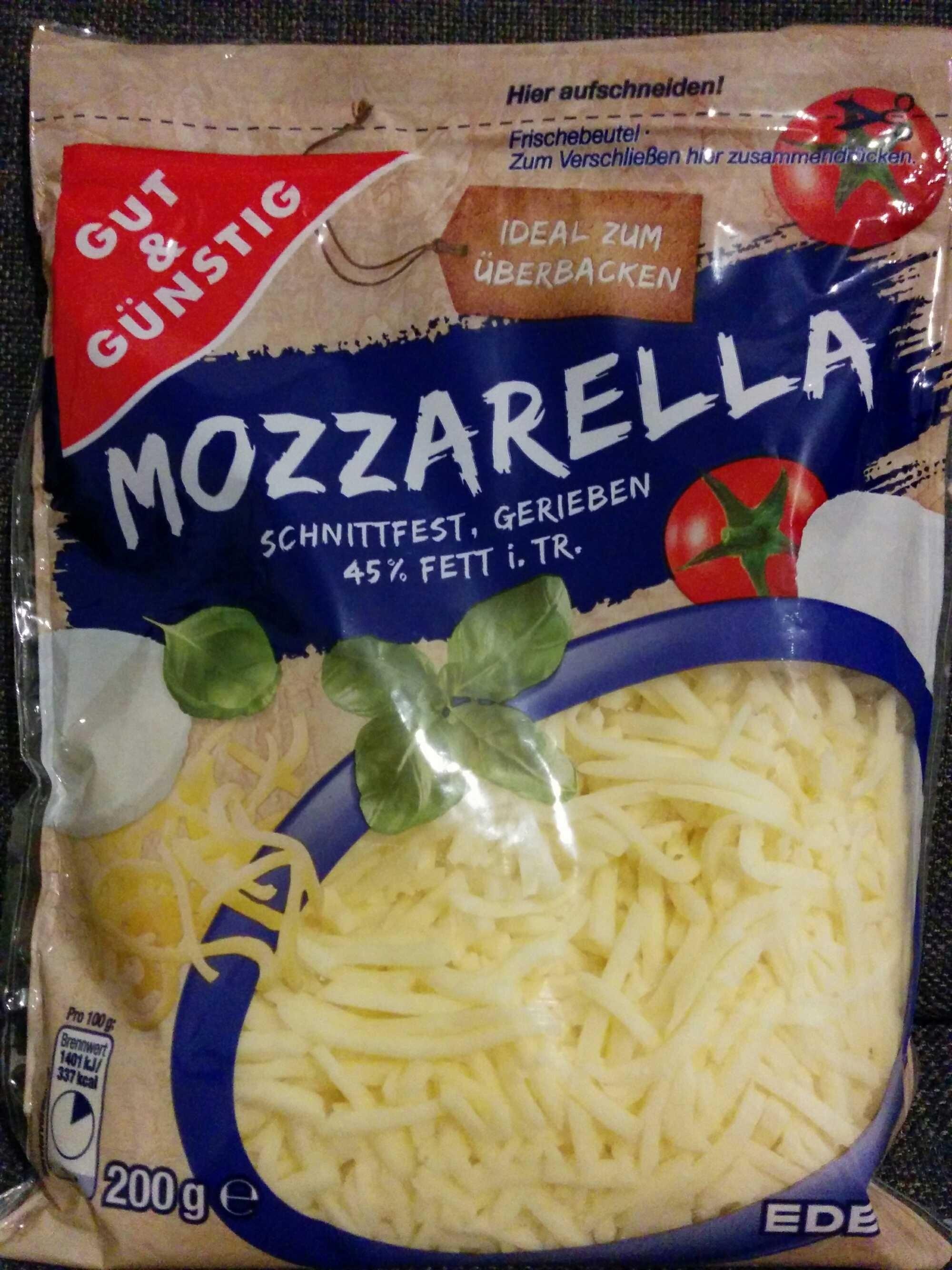 Mozzarella gerieben gut g nstig 200 g for Babyzimmer gut und gunstig