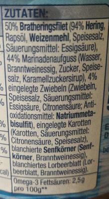 Bratherings- Filet - Ingredienti - de
