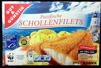Pazifische Schollenfilets - Product