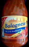 Bolognese mit 21% Rindfleisch - Produit