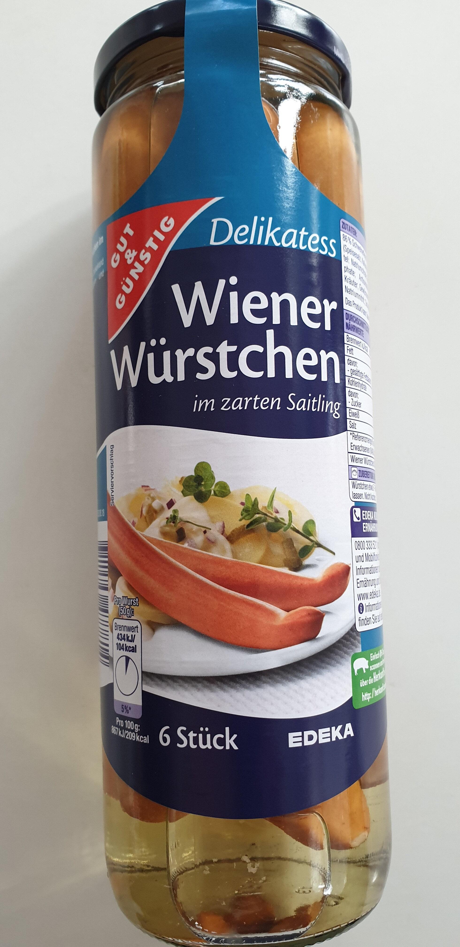 Wiener Würstchen - Produkt