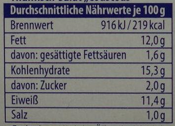 Thunfisch-Salat Couscous - Nutrition facts - de