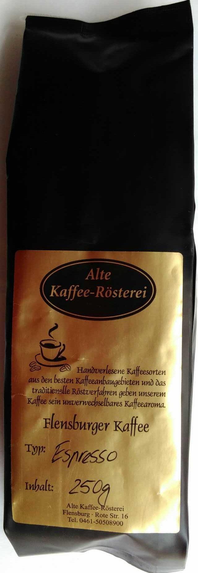 Flensburger Kaffee Espresso Classic - Produkt