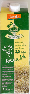 Heumilch 3,8% Fett - Produkt - de