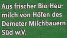 Heumilch 3,8% Fett - Zutaten - de