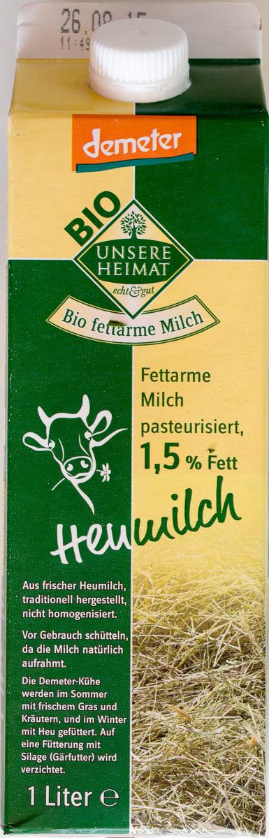 Heumilch 1,5% Fett - Produit - de