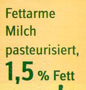 Heumilch 1,5% Fett - Inhaltsstoffe