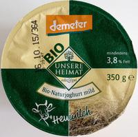 Bio-Naturjoghurt mild - Produkt - de