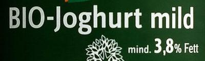 BIO-Joghurt mild - Ingrédients - de