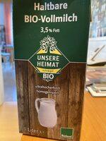 Haltbare Bio-Vollmilch - Produit - de