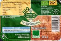 Bio-Speisequark Magerstufe - Produit