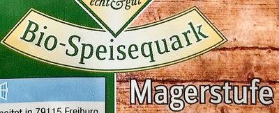 Bio-Speisequark Magerstufe - Ingrédients