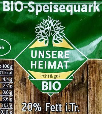 Bio-Speisequark - Zutaten - de