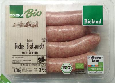 Grobe Bratwurst - Produkt - de