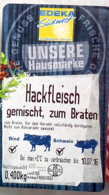 Hackfleisch gemischt - Produkt