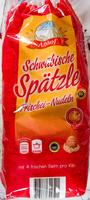 Schwäbische Spätzle - Produkt