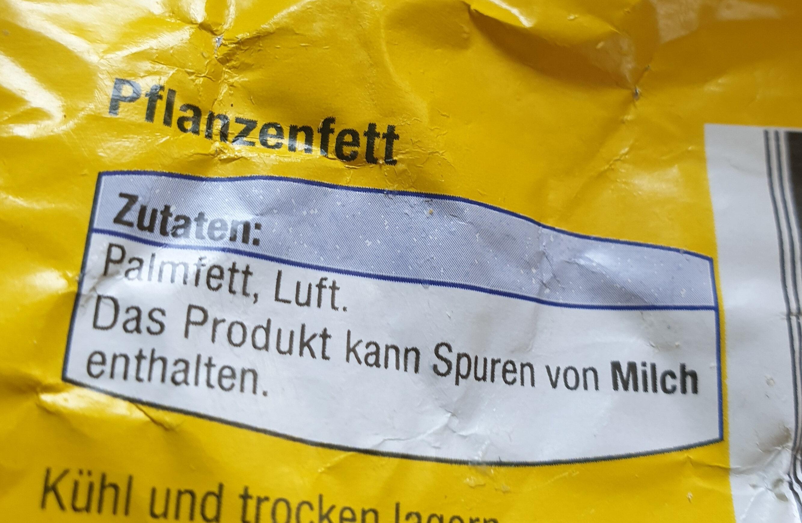 pflanzenfett - Ingrediënten
