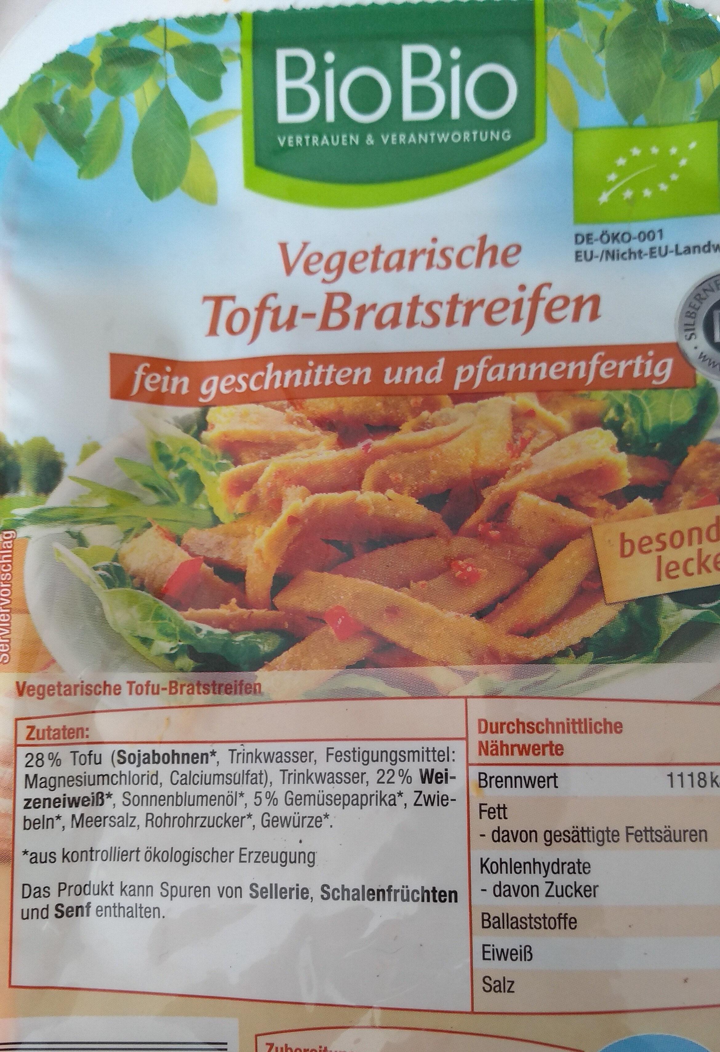 Vegane Tofu bratstreifen - Produit - fr