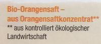 Orangen Saft - Ingredients - de