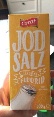 Jod salz feinkörnig - Produit - de