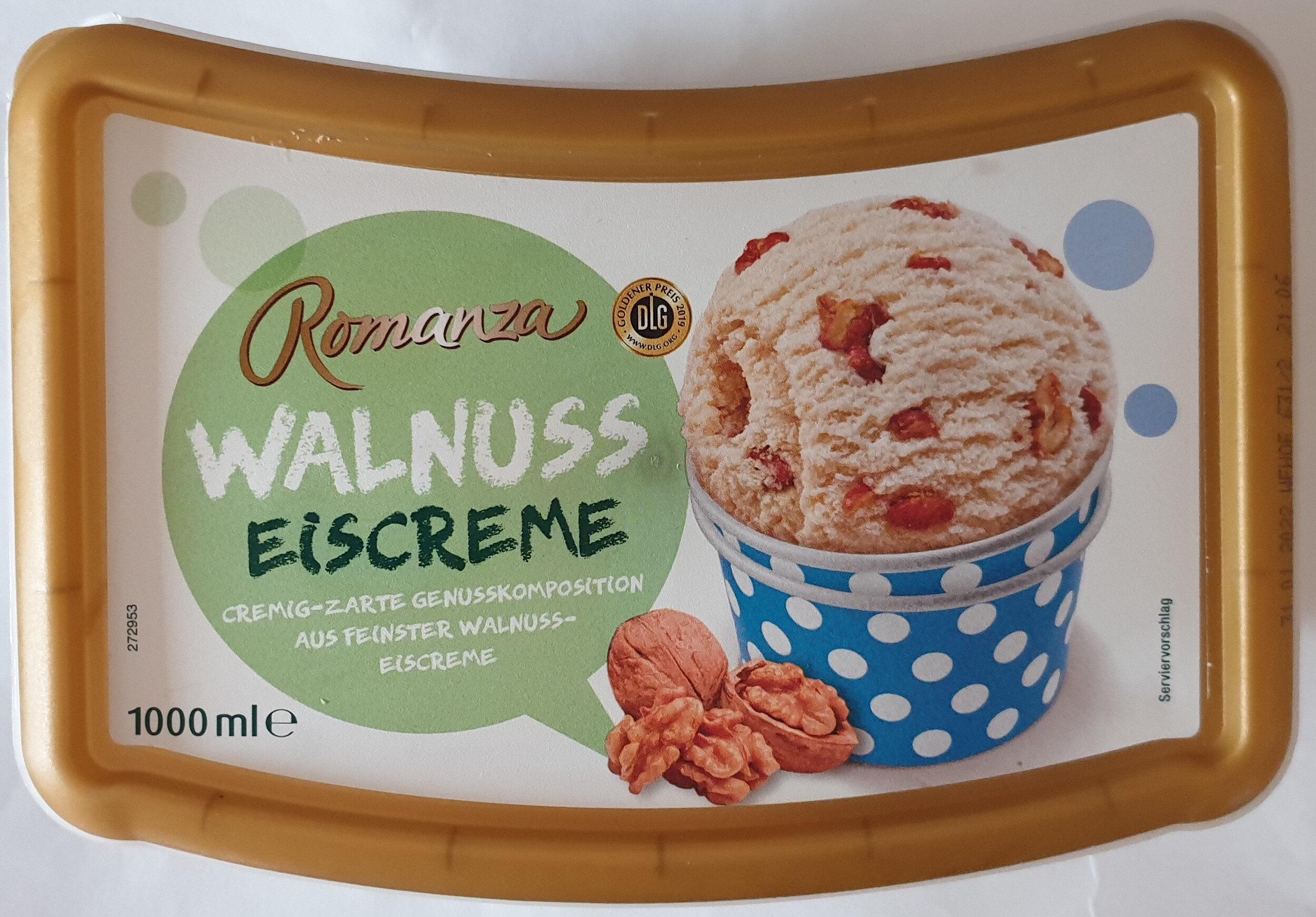 Walnuss Eiscreme - Product - de