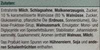 Walnuss Eiscreme - Ingredients - de