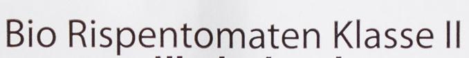 Rispen-Tomaten - Inhaltsstoffe - de
