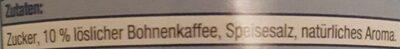 Eiskaffee Classico - Ingrediënten - de