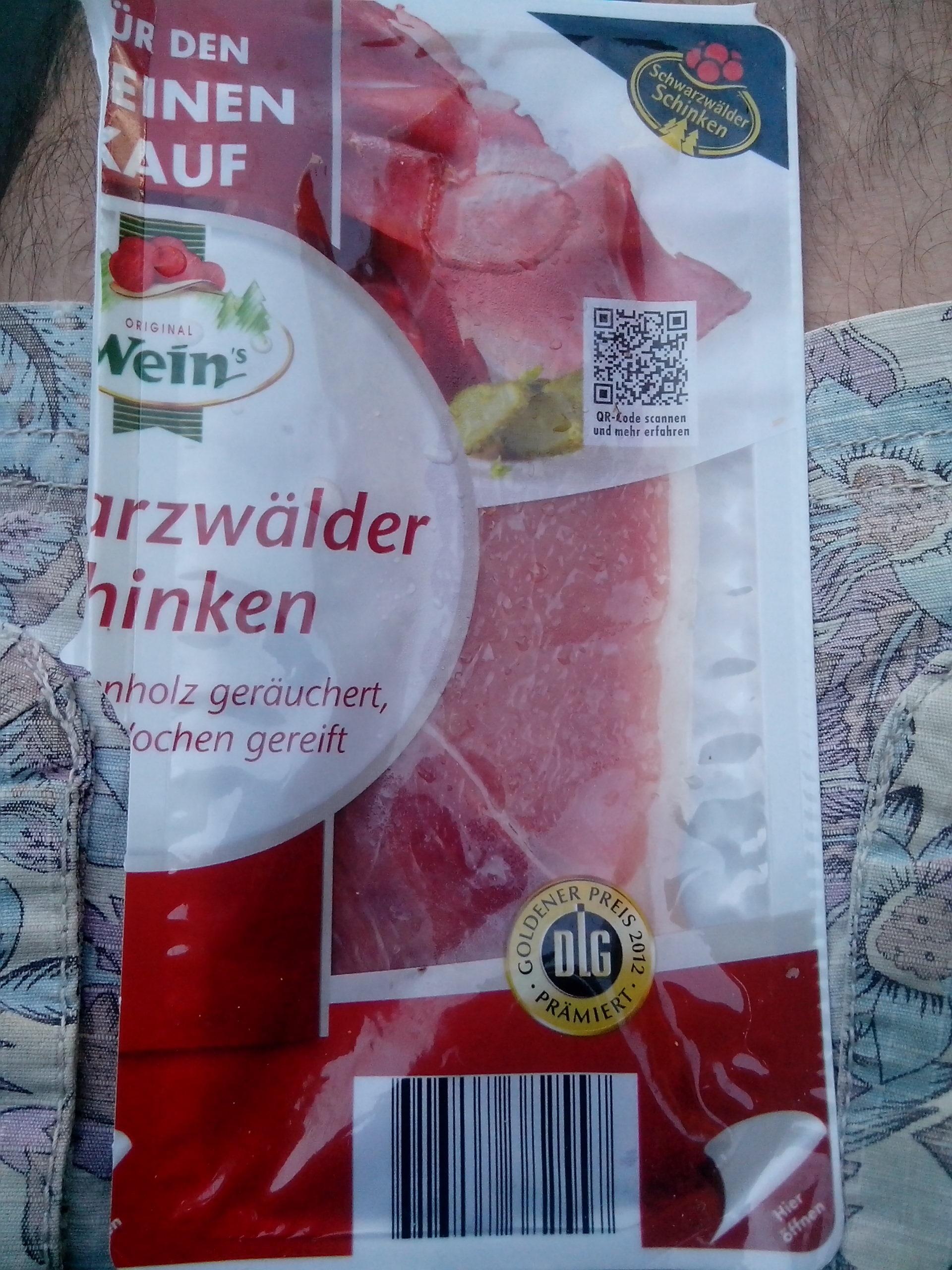 Schwarzwälder Schinken - Product