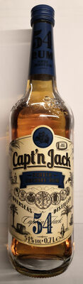 Capt'n Jack Echter Überseerum 54 - Product - de