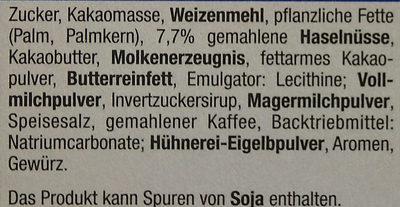 Schokowaffeln - Ingredients