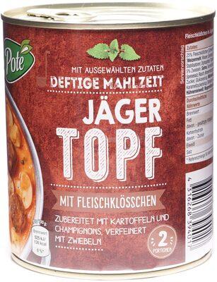 Deftige Mahlzeit Jäger Topf - Produkt - de
