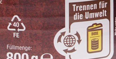 Deftige Mahlzeit Jäger Topf - Wiederverwertungsanweisungen und/oder Verpackungsinformationen - de