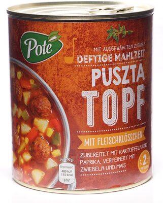 Puszta Topf - Produkt