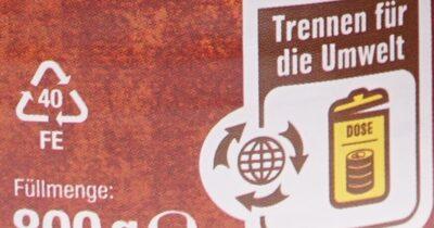 Puszta Topf - Wiederverwertungsanweisungen und/oder Verpackungsinformationen - de
